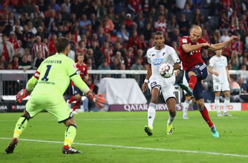 FC Bayern München siegt gegen TSG 1899 Hoffenheim