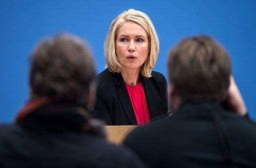 Bundesfamilienministerin Manuela Schwesig hat sich durchgesetzt. Aber ist sie damit auch ihren Zielen nähergekommen? Zweifel sind angebracht. Foto: dpa
