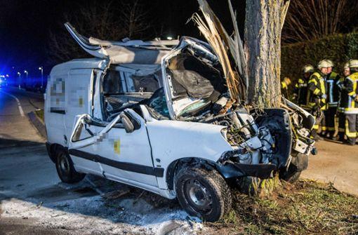 In Plüderhausen hat es einen schweren Unfall gegeben. Foto: SDMG