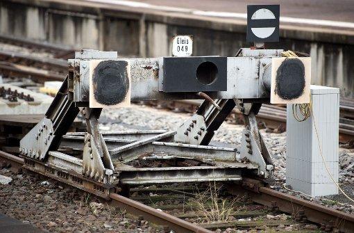 TGV-Fahrer bremst nicht rechtzeitig