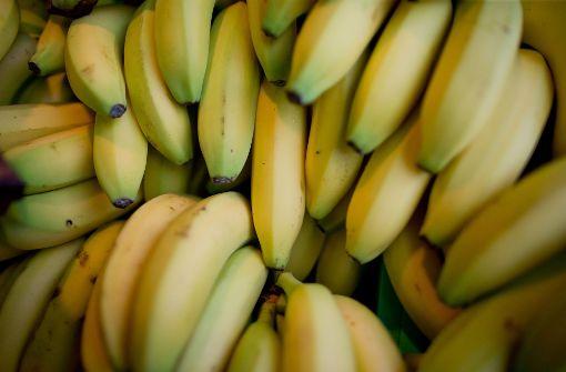 Bananen sind nach Brot das zweithäufigsten Produkt in den Supermarkt-Mülltonnen. Foto: dpa