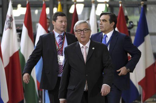 Leitlinien für Brexit-Verhandlungen stehen fest