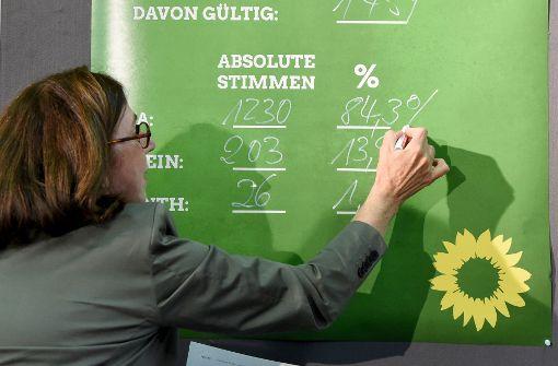 Grüne stimmen Koalition mit CDU und FDP zu