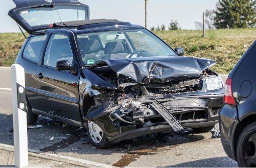 68-Jährige bei Unfall schwer verletzt