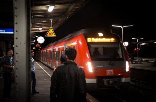 In sechs Jahren soll die S-Bahn über den Flughafen und Filderstadt-Bernhausen hinaus bis nach Neuhausen/Fildern weiterfahren. Foto: Lichtgut/Achim Zweygarth