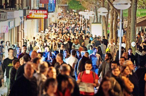 Immer mehr Menschen zieht es in die Kesselstadt