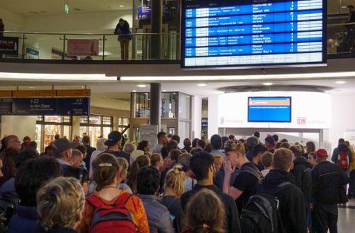 Bahn räumt Hauptstrecken schnell wieder frei