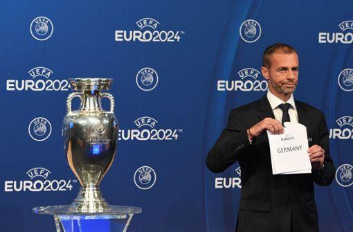 Deutschland ist Gastgeber der Fußball-EM 2024
