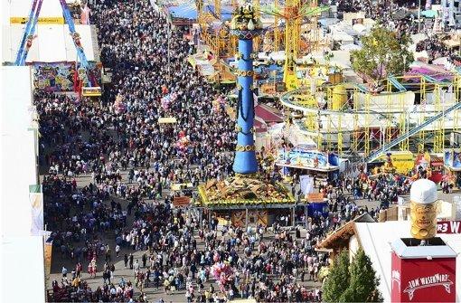 Das Volksfest zieht mehr Besucher an