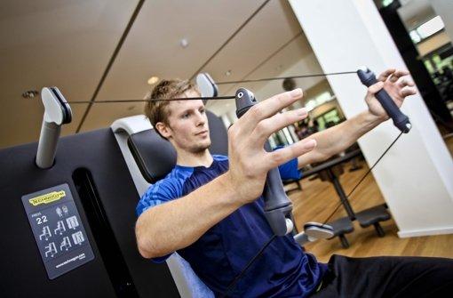 Gerätetraining wie hier im Fitnessstudio Palestro wird immer beliebter. Foto: Peter Petsch