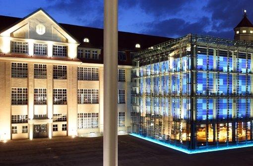 Das ZKM in Karlsruhe – einer von vielen Kunsttempeln im Land, die ohne Lothar Späth wohl nie entstanden wären. Foto: dpa
