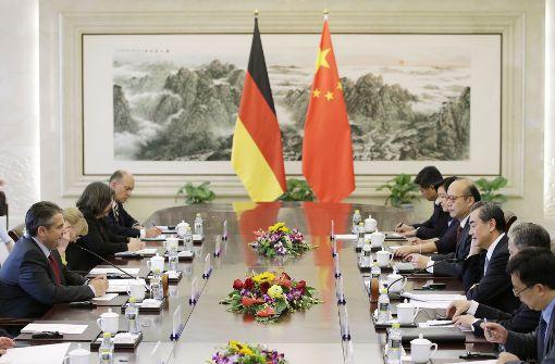 Gabriel setzt im Nordkorea-Konflikt auf China