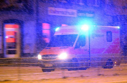 Schneefall führt zu zahlreichen Unfällen