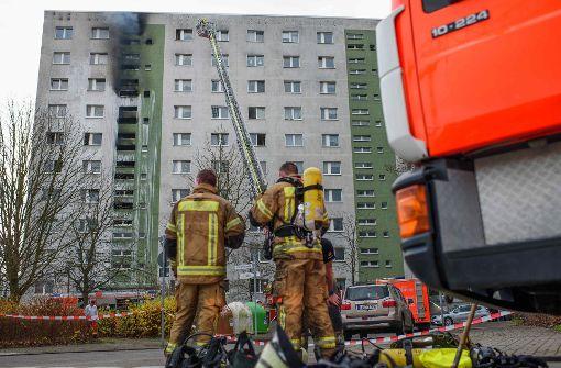 Mehrere Verletzte bei Hochhausbrand