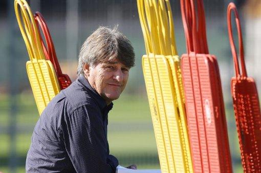 Der Chef ist da: Neue Tonart beim  VfB