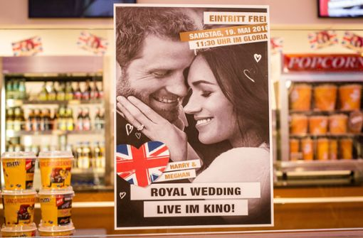 Royals-Fans schauen Hochzeit von Meghan und Harry