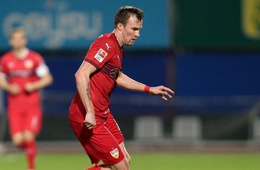 Kevin Großkreutz bei seinem ersten Testspiel für den VfB Stuttgart.  Foto: Pressefoto Baumann