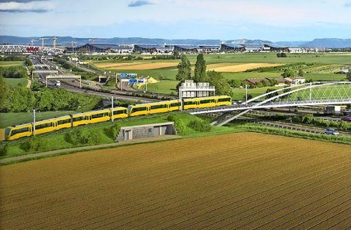 U6 rollt 2021   zum Flughafen