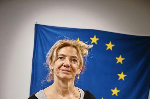 Stefanie Woite-Wehle will die EU im Alltag  sichtbarer machen.   Foto: Lichtgut/Achim Zweygarth
