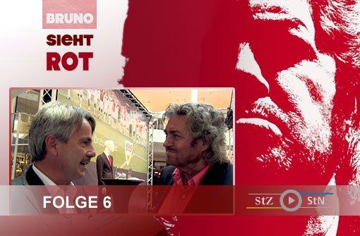Bruno sieht rot: Der VfB bei Breuninger