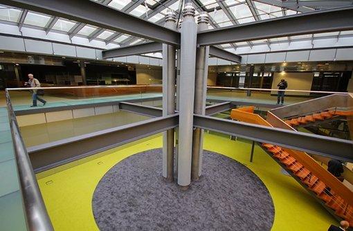 Eiermann-Campus: So siehts innen aus