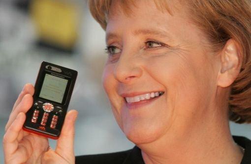 Neues Mobiltelefon für Merkel