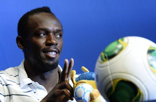 Usain Bolt startet Fußball-Karriere