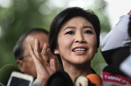 Ex-Ministerpräsidentin Yingluck flüchtet aus dem Land