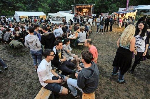 Drei Tage lang Rock und Pop am Festival-See