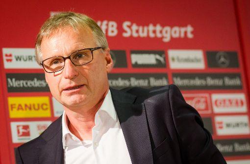 Löste vor vier Wochen Jan Schindelmeiser als Sportchef beim VfB ab: Michael Reschke. Foto: dpa