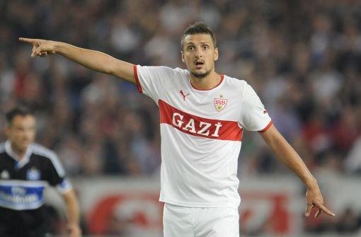 Mittelfeldspieler Zdravko Kuzmanovic verlässt wohl den VfB Stuttgart. Der 25-jährige Serbe wechselt mit sofortiger Wirkung für eine Million Euro Ablöse zu Inter Mailand. Hier einige Fotos von Kuz, so sein Spitzname, aus seiner VfB-Zeit zum Durchklicken: Foto: dpa