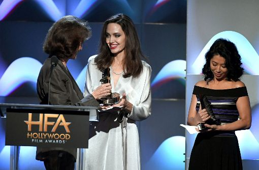 """Angelina Jolie bekam den """"Hollywood Foreign Language Award"""" bei der diesjährigen Preisveranstaltung. Foto: GETTY IMAGES NORTH AMERICA"""