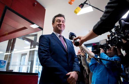 CSU-Fraktion nominiert Markus Söder einstimmig