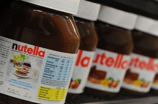 Diebe stehlen 5000 Kilogramm Nutella