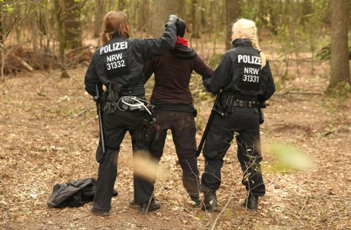 Polizei beendet mehrwöchigen Großeinsatz
