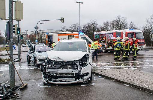 Mehrere Verletzte nach schwerem Unfall