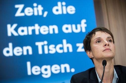 AfD-Generalsekretär spricht von Wahlkampfmanöver