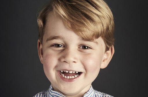 Prinz George feiert vierten Geburtstag