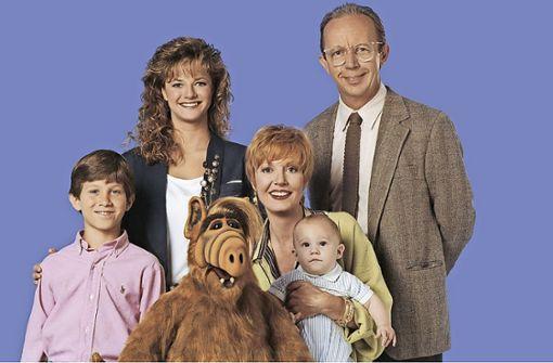 Alf kehrt auf  die Erde zurück