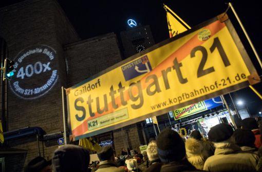 Die Gegner von Stuttgart 21 sehen sich bestätigt. Foto: dpa