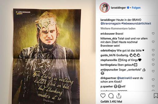 Schauspieler ist dank Gregor Gysi jetzt Posterboy