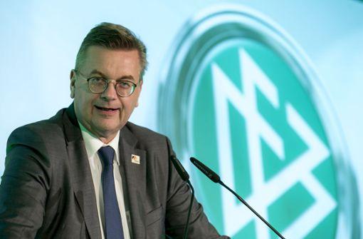 Rücktrittsforderungen gegen DFB-Präsident Grindel werden lauter
