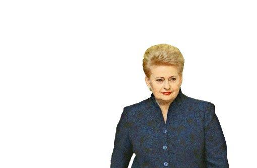 Die Uniform der Dalia Grybauskaite