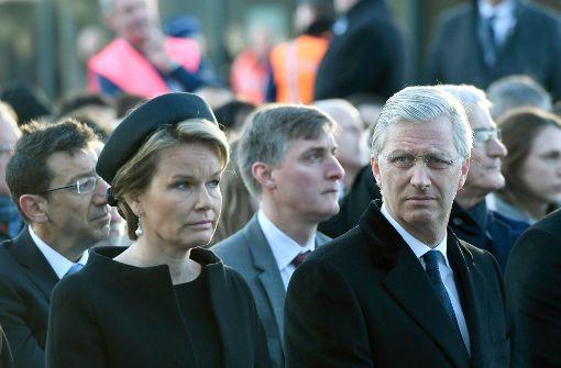 Brüssel gedenkt der Opfer