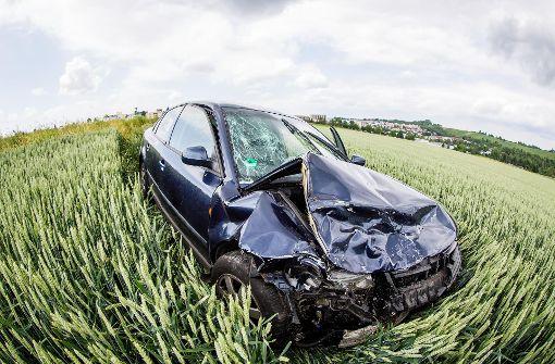 Drei Verletzte bei schwerem Unfall