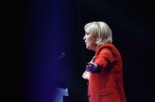 Marine Le Pen –   mit Zorn zur Macht
