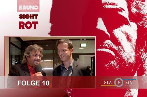 Bruno sieht rot: Mit Bobic & Harnik per Du