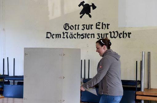 Höhere Wahlbeteiligung in Schleswig-Holstein