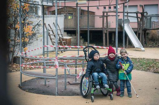 Das Rollstuhlkarussell soll sich wieder drehen