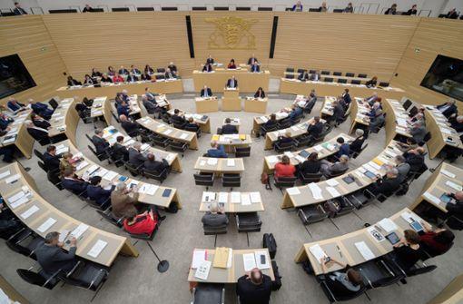 Landtag in Baden-Württemberg Foto: dpa